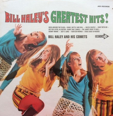 DISCO DE VINIL NOVO - BILL HALEY AND HIS COMETS - BILL HALEY´S GREATEST HITS! LP