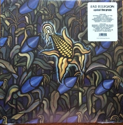 DISCO DE VINIL NOVO - BAD RELIGION - AGAINST THE GRAIN LP 180 G