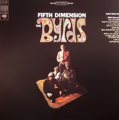 DISCO DE VINIL NOVO - THE BYRDS - FIFTH DIMENSION LP 180 G