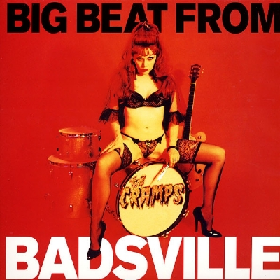 DISCO DE VINIL NOVO - THE CRAMPS - BIG BEAT FROM BADSVILLE LP