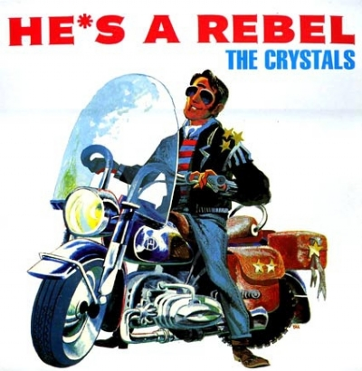 DISCO DE VINIL NOVO - THE CRYSTALS - HE´S A REBEL LP