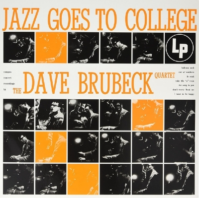 DISCO DE VINIL NOVO - THE DAVE BRUBECK QUARTET - JAZZ GOES TO COLLEGE 180 G