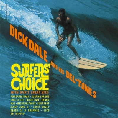 DISCO DE VINIL NOVO - DICK DALE AND HIS DEL-TONES - SURFER´S CHOICE LP 180 G