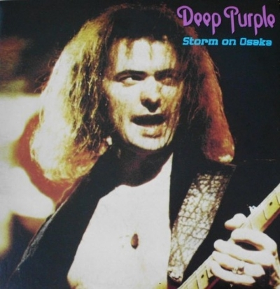DISCO DE VINIL NOVO - DEEP PURPLE - STORM ON OSAKA 1973 LP
