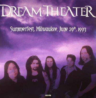 DISCO DE VINIL NOVO - DREAM THEATER - LIVE AT SUMMERFEST 1993 LP DUPLO 180 G