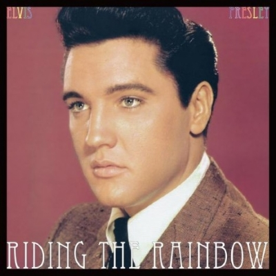 DISCO DE VINIL NOVO - ELVIS PRESLEY - RIDING THE RAINBOW LP COLORIDO