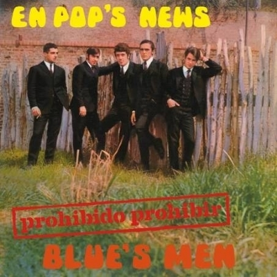 DISCO DE VINIL NOVO - BLUE´S MEN - PROHIBIDO PROHIBIR LP 10