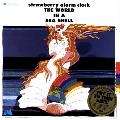 DISCO DE VINIL NOVO - STRAWBERRY ALARM CLOCK - THE WORLD IN A SEA SHELL LP 180 G