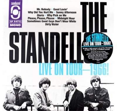DISCO DE VINIL NOVO - THE STANDELLS - LIVE ON TOUR - 1966! LP 180 G