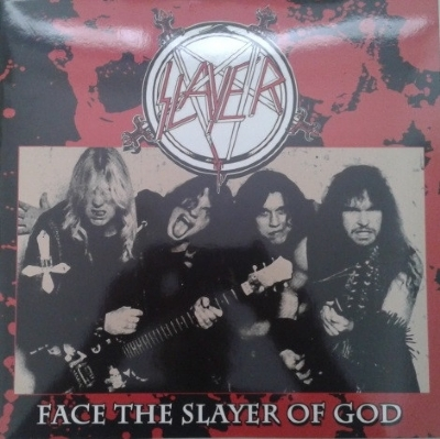 DISCO DE VINIL NOVO - SLAYER - FACE THE SLAYER OF GOD LP COLORIDO