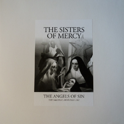 DISCO DE VINIL NOVO - SISTERS OF MERCY - THE ANGELS OF SIN LP COLORIDO