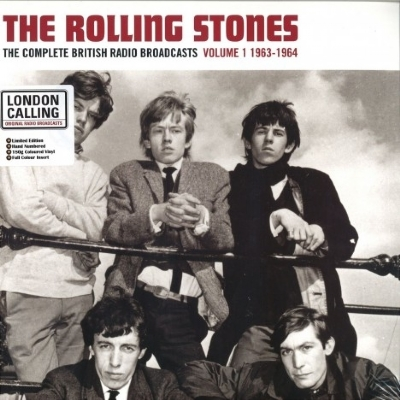 DISCO DE VINIL NOVO - THE ROLLING STONES - COMPLETE BRITISH RADIO BROADCASTS, VOL, 1 LP COLORIDO