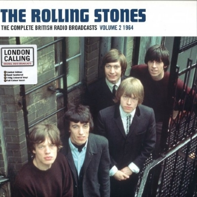 DISCO DE VINIL NOVO - THE ROLLING STONES - COMPLETE BRITISH RADIO BROADCASTS, VOL, 2 LP COLORIDO