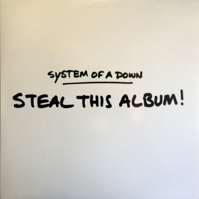 DISCO DE VINIL NOVO - SYSTEM OF A DOWN - STEAL THIS ALBUM LP
