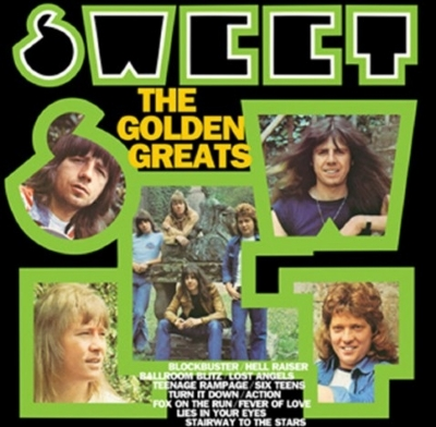 DISCO DE VINIL NOVO - SWEET - SWEET´S GOLDEN GREATS LP