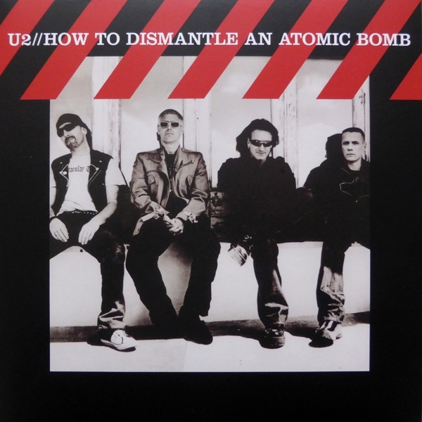 DISCO DE VINIL NOVO - U2 - HOW TO DISMANTLE AN ATOMIC BOMB LP 180 G