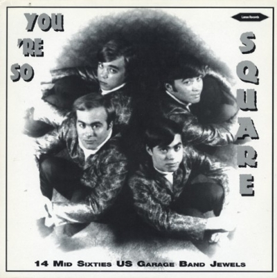 DISCO DE VINIL NOVO - YOU´RE SO SQUARE - 14 MID SIXTIES US GARAGE BAND JEWELS LP
