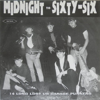 DISCO DE VINIL NOVO - MIDNIGHT TO SIXTY-SIX - 14 LONG LOST US 60´S GARAGE PUNKERS LP