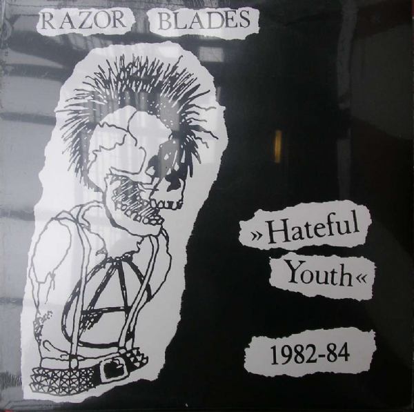 DISCO DE VINIL NOVO - RAZOR BLADES - HATEFUL YOUTH 1982 - 1984 LP IMG-1153880