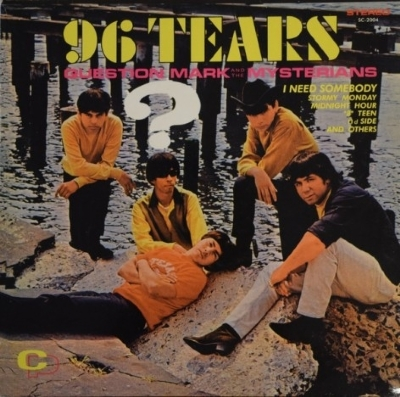 DISCO DE VINIL NOVO - QUESTION MARK AND THE MYSTERIANS - 96 TEARS LP