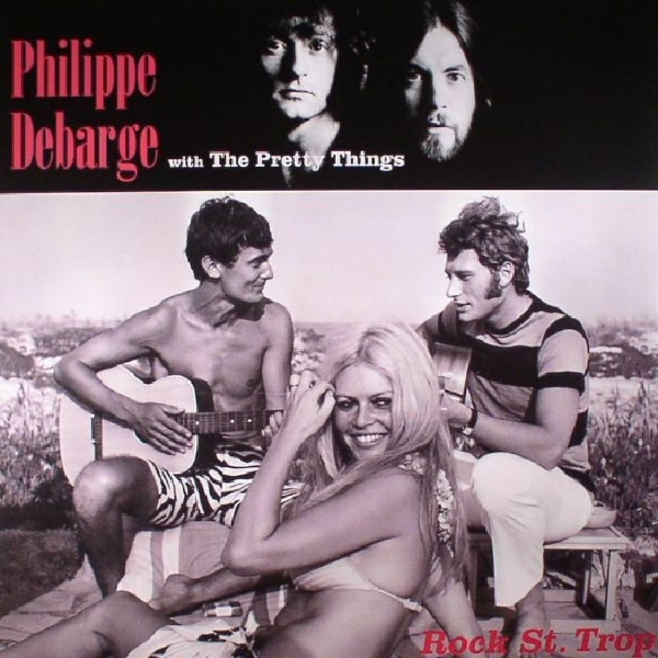 DISCO DE VINIL NOVO - THE PRETTY THINGS WITH PHILIPPE DEBARGE - ROCK ST. TROP LP 180 G