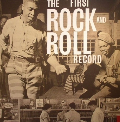 DISCO DE VINIL NOVO - THE FIRST ROCK & ROLL RECORD BOX SET 4LP+3CD+7