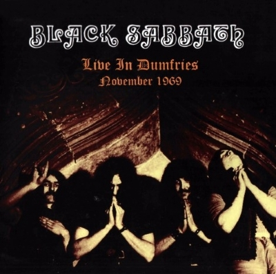 DISCO DE VINIL NOVO - BLACK SABBATH - LIVE IN DUMFRIES NOVEMBER 1969 LP 180 G