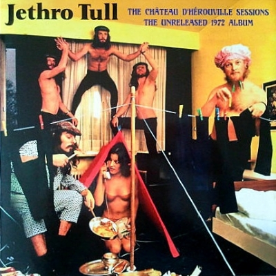 DISCO DE VINIL NOVO - JETHRO TULL - THE CHÂTEAU D´HÉROUVILLE SESSIONS THE UNRELEASED 1972 ALBUM LP DUPLO