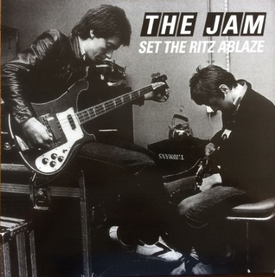DISCO DE VINIL NOVO - THE JAM - SET THE RITZ ABLAZE LP