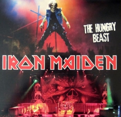 DISCO DE VINIL NOVO - IRON MAIDEN - THE HUNGRY BEAST LP