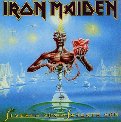 DISCO DE VINIL NOVO - IRON MAIDEN - SEVENTH SON OF A SEVENTH SON LP