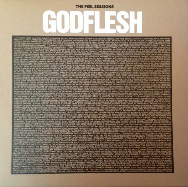DISCO DE VINIL NOVO - GODFLESH - THE PEEL SESSIONS LP