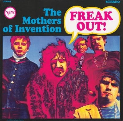DISCO DE VINIL NOVO - FRANK ZAPPA & THE MOTHERS OF INVENTION - FREAK OUT! LP