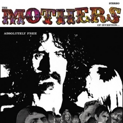 DISCO DE VINIL NOVO - FRANK ZAPPA & THE MOTHERS OF INVENTION - ABSOLUTELY FREE LP DUPLO 180 G
