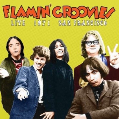 DISCO DE VINIL NOVO - THE FLAMIN´ GROOVIES - LIVE 1971 SAN FRANCISCO LP 180 G