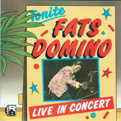 DISCO DE VINIL NOVO - FATS DOMINO - LIVE IN CONCERT LP 180 G