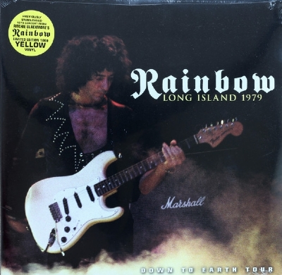 DISCO DE VINIL NOVO RAINBOW - LONG ISLAND 1979 LP DUPLO COLORIDO