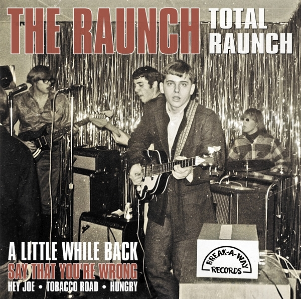 DISCO DE VINIL NOVO - THE RAUNCH - TOTAL RAUNCH LP 180 G