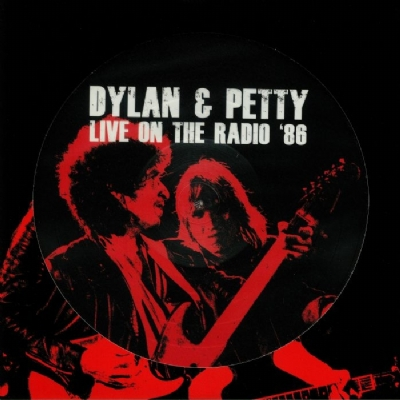DISCO DE VINIL NOVO - BOB DYLAN & TOM PETTY - LIVE ON THE RADIO ´86 LP PICTURE DISC