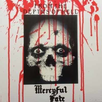 DISCO DE VINIL NOVO - MERCYFUL FATE - LIVE FROM THE DEPTHS OF HELL LP COLORIDO