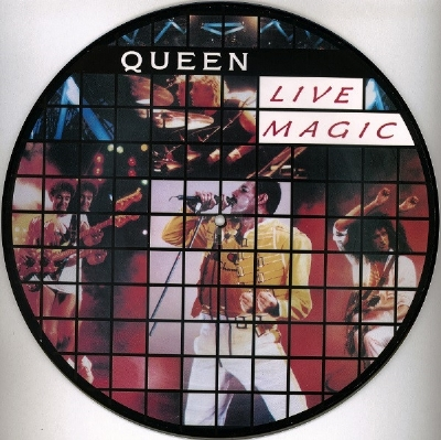 DISCO DE VINIL NOVO - QUEEN - LIVE MAGIC PICTURE DISC LP