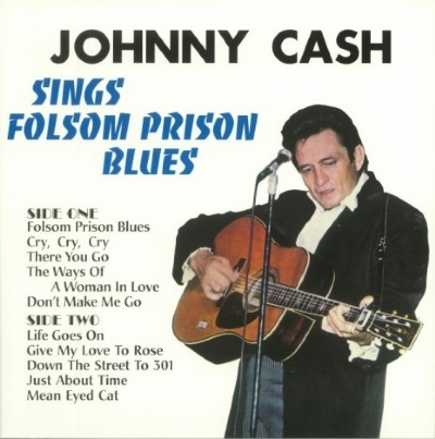 DISCO DE VINIL NOVO - JOHNNY CASH - SINGS FOLSOM PRISON BLUES LP 180 G