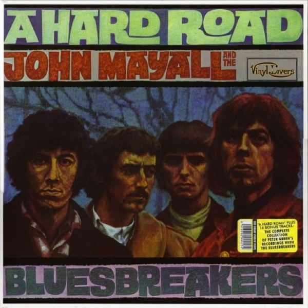 DISCO DE VINIL NOVO - JOHN MAYALL AND THE BLUESBREAKERS - A HARD ROAD LP DUPLO 180 G