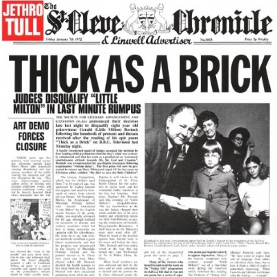 DISCO DE VINIL NOVO - JETHRO TULL - THICK AS A BRICK LP 180 G