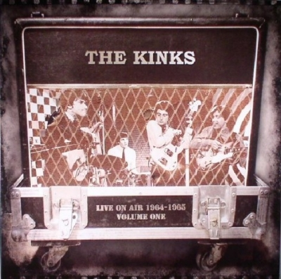 DISCO DE VINIL NOVO - THE KINKS - LIVE ON AIR 1964-1965 LP 180 G COLORIDO