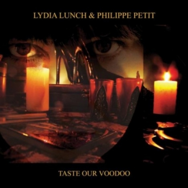 DISCO DE VINIL NOVO - LYDIA LUNCH & PHILIPPE PETIT - TASTE OUR VOODOO LP DUPLO