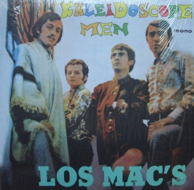 DISCO DE VINIL NOVO - LOS MAC´S - KALEIDOSCOPE MEN LP 180 G