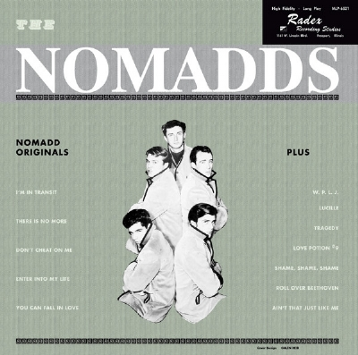 DISCO DE VINIL NOVO - THE NOMADDS - NOMADDS ORIGINALS LP