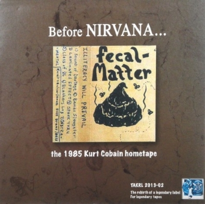 DISCO DE VINIL NOVO - NIRVANA - BEFORE NIRVANA... FECAL MATTER 1985 LP