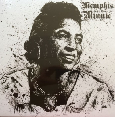 DISCO DE VINIL NOVO - MEMPHIS MINNIE - DOWN HOME GIRL LP 180 G